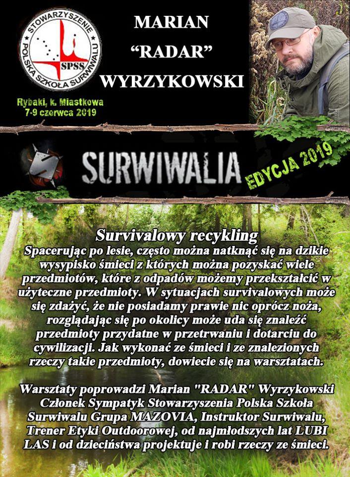 Marian Wyrzykowski - Surwiwalowy recycling