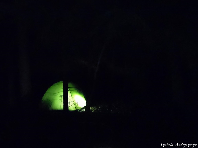 surwiwal TVP3 biwak leśny bushcraft