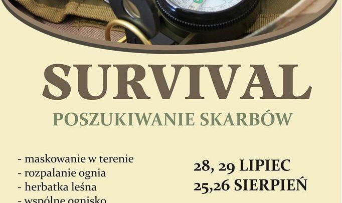 SURVIVAL – zajęcia dla dzieci i młodzieży
