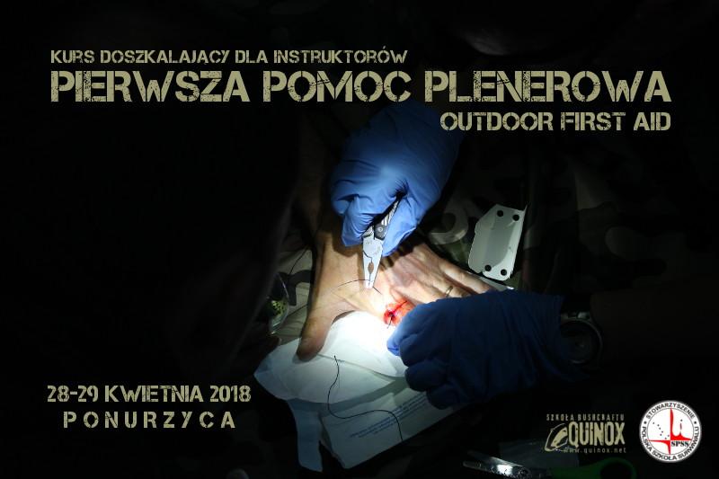 Pierwsza Pomoc Plenerowa - kurs