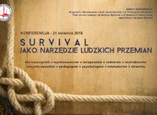 Konferencja: Survival jako narzędzie ludzkich przemian