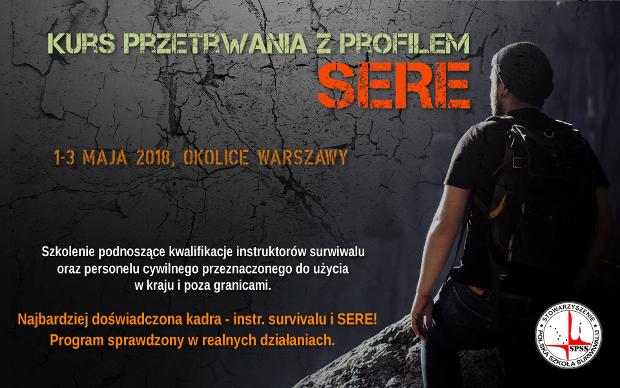 Szkolenie SERE Stowarzyszenie Polska Szkoła Surwiwalu, survival