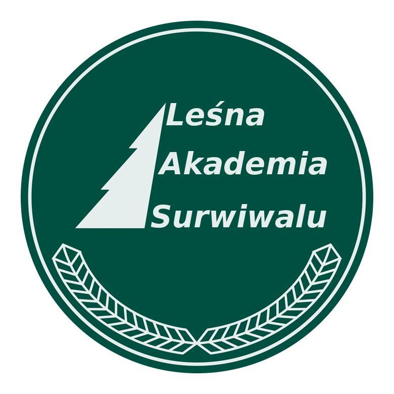 Logo Leśnej Akademii Surwiwalu