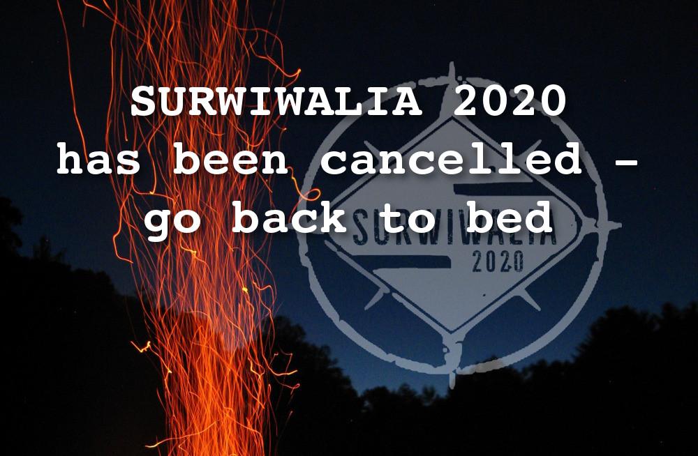 SURWIWALIA 2020 – odwołane!