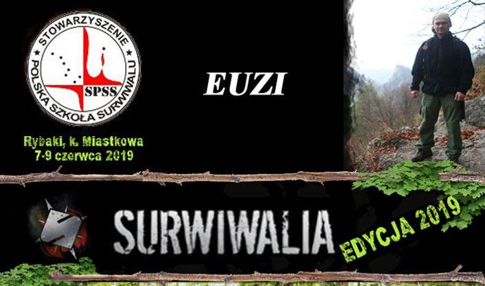 Spotkanie z Euzim – Surwiwalia 2019
