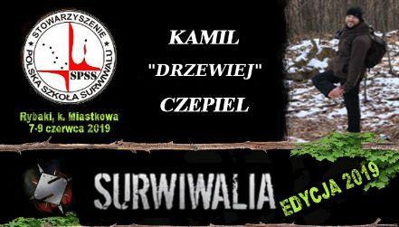 Kamil Czepiel, Chodzenie boso