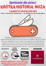 """Warsztat dla dzieci """"Bezpieczny nóż"""" @ Nowoursynowska 154A"""