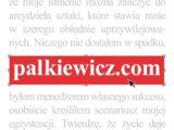 Palkiewicz.com – spotkanie z Autorem