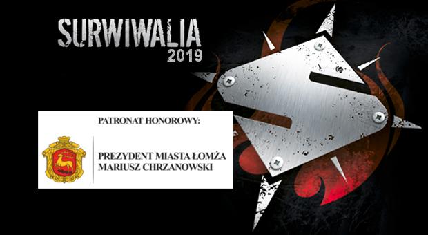 Surwiwalia patronat prezydenta Łomży Mariusza Chrzanowskiegoy