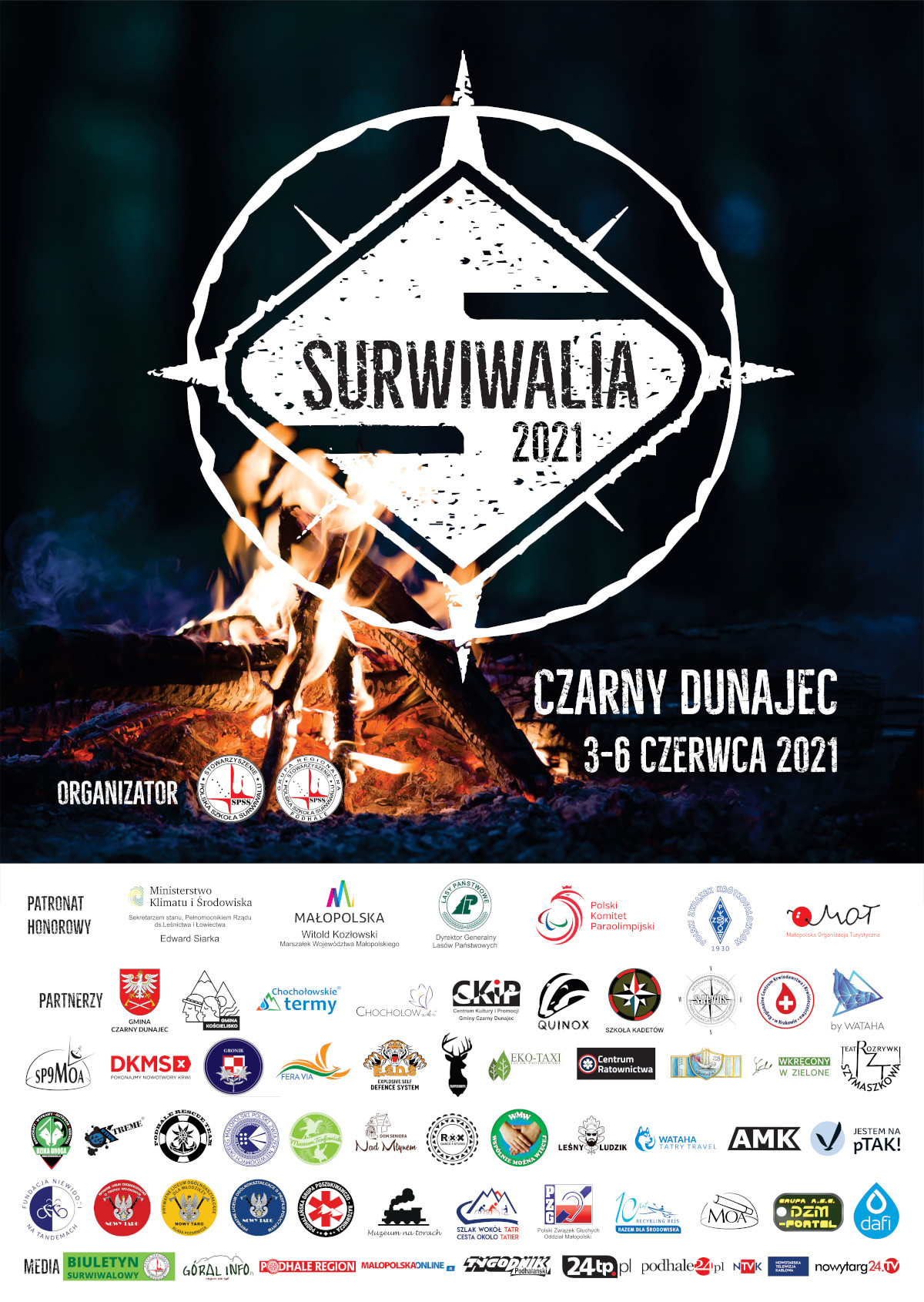Surwiwalia - plakat
