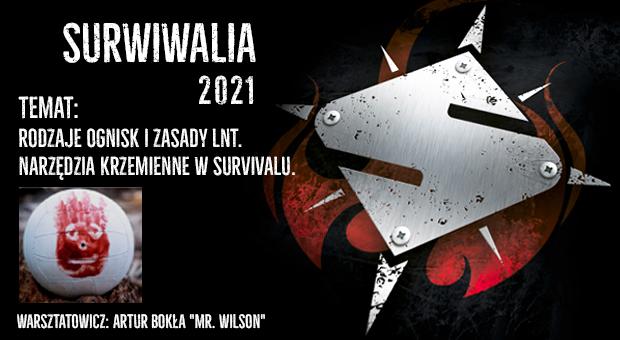 Artur Bokła - warsztaty krzemieniarskie, SURWIWALIA 2021